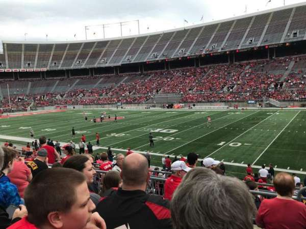 Ohio Stadium, section: 25a, row: 5, seat: 24