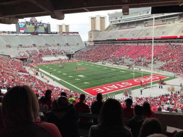 Ohio Stadium, section: 6B, row: 7, seat: 2