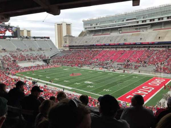 Ohio Stadium, section: 10b, row: 5, seat: 2