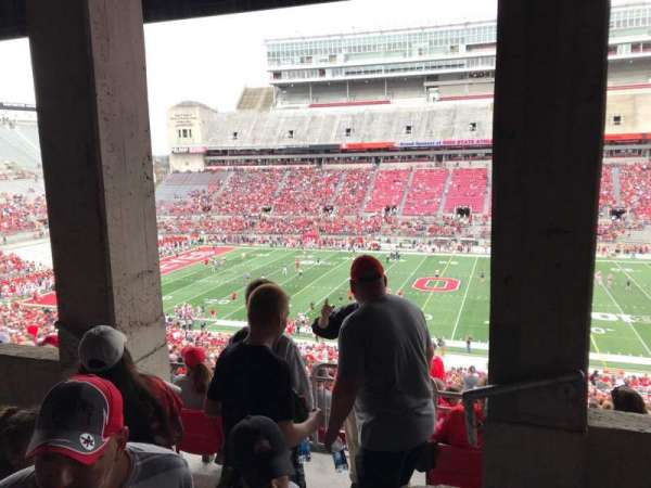 Ohio Stadium, section: 18b, row: 4, seat: 24