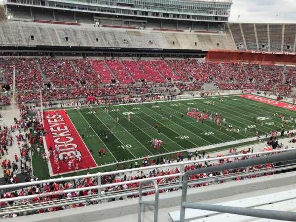 Ohio Stadium, section: 28c, row: 6, seat: 18