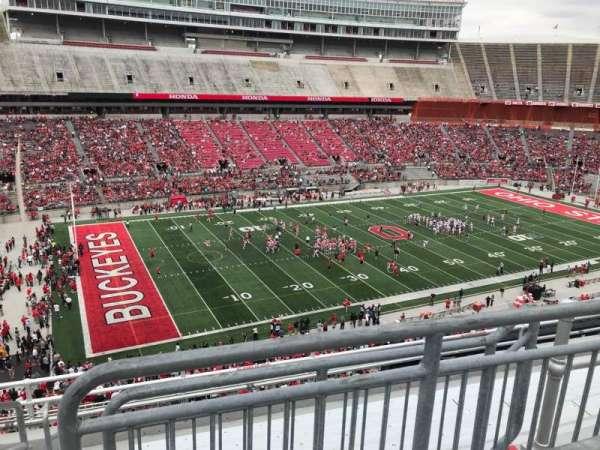 Ohio Stadium, section: 28c, row: 8, seat: 17