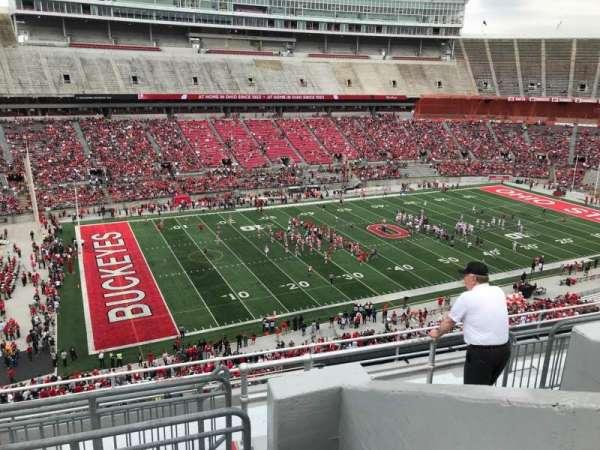 Ohio Stadium, section: 28c, row: 11, seat: 13