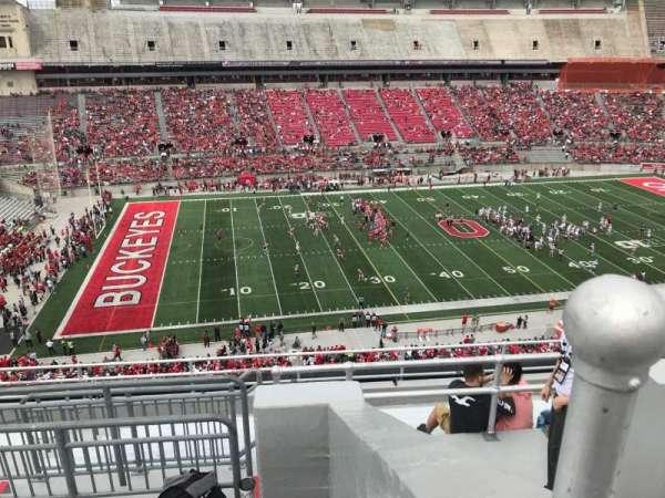 Ohio Stadium, section: 26C, row: 11, seat: 11