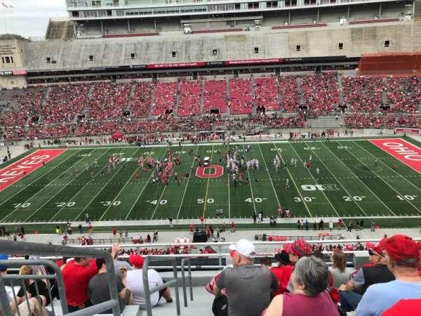 Ohio Stadium, section: 20c, row: 9, seat: 35