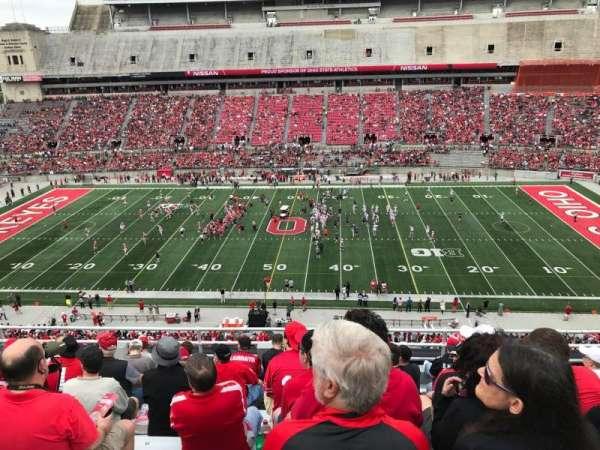 Ohio Stadium, section: 20c, row: 10, seat: 26