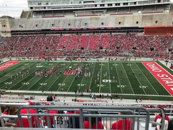 Ohio Stadium Section 20c Home Of Ohio State Buckeyes