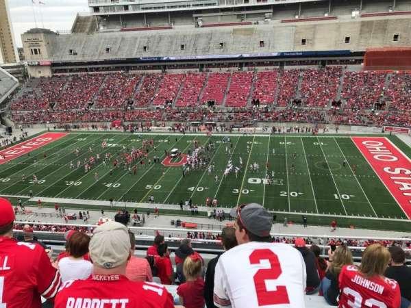 Ohio Stadium, section: 18c, row: 10, seat: 28