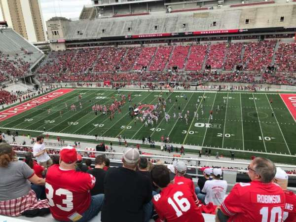 Ohio Stadium, section: 18c, row: 9, seat: 19