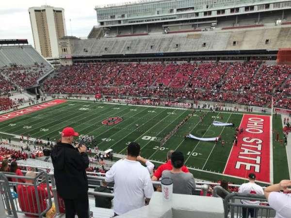 Ohio Stadium, section: 16c, row: 10, seat: 5