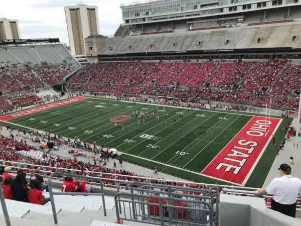Ohio Stadium, section: 14c, row: 12, seat: 11