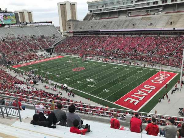 Ohio Stadium, section: 14c, row: 11, seat: 23