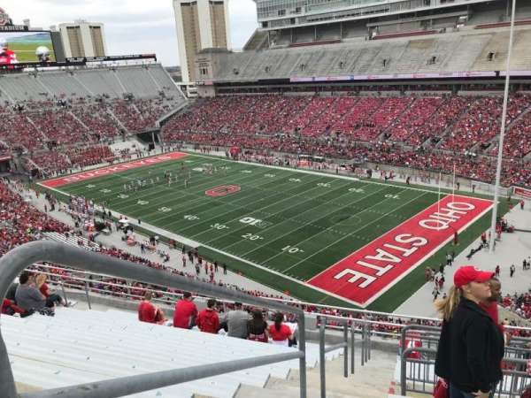 Ohio Stadium, section: 14c, row: 13, seat: 15