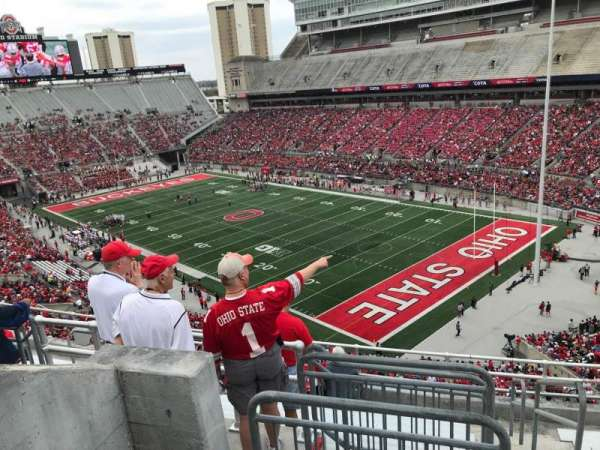 Ohio Stadium Section 12c Home Of Ohio State Buckeyes