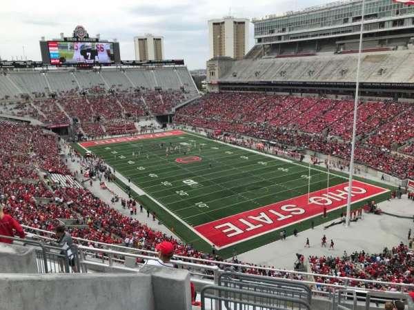 Ohio Stadium, section: 10c, row: 12, seat: 1