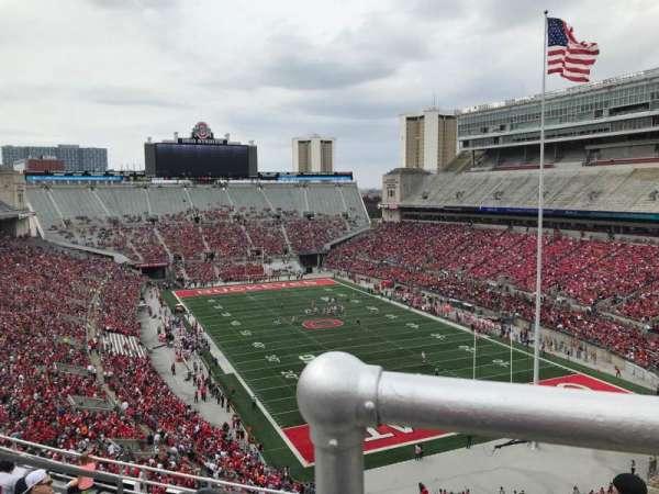 Ohio Stadium, section: 8c, row: 11, seat: 9