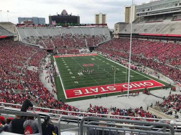Ohio Stadium, section: 6c, row: 9, seat: 12