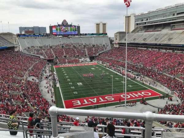 Ohio Stadium, section: 6c, row: 12, seat: 8
