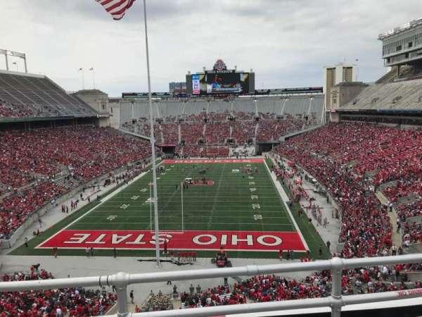 Ohio Stadium, section: 3c, row: 3, seat: 11