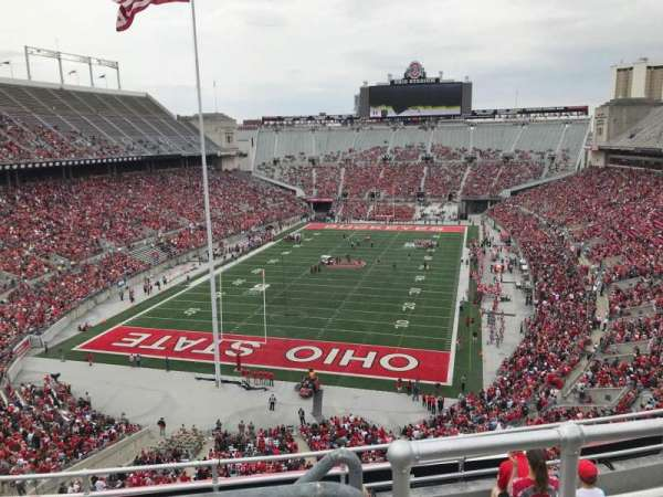 Ohio Stadium, section: 5c, row: 8, seat: 3