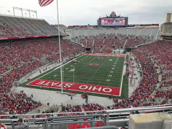 Ohio Stadium, section: 5c, row: 10, seat: 2