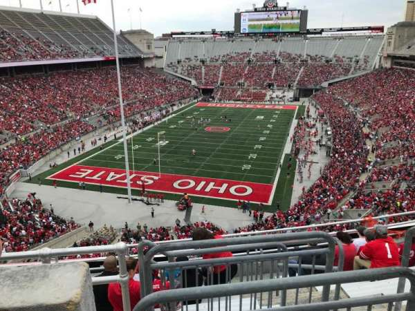Ohio Stadium, section: 5c, row: 9, seat: 11