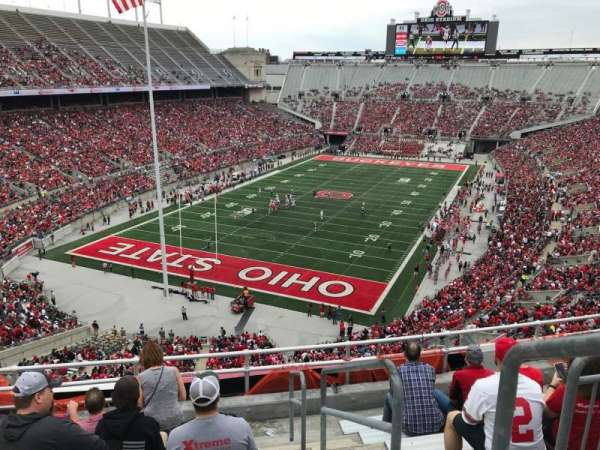 Ohio Stadium, section: 5c, row: 8, seat: 28