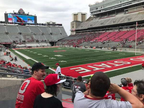 Ohio Stadium, section: 10a, row: 7, seat: 6