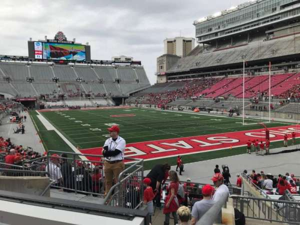 Ohio Stadium, section: 8a, row: 7, seat: 13