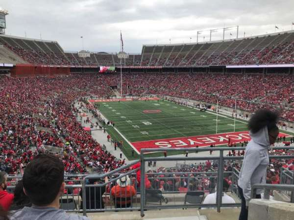 Ohio Stadium, section: 33b, row: 6, seat: 1