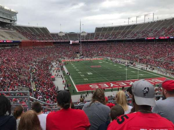 Ohio Stadium, section: 35b, row: 7, seat: 13