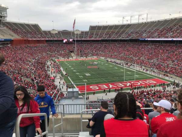 Ohio Stadium, section: 35b, row: 16, seat: 33