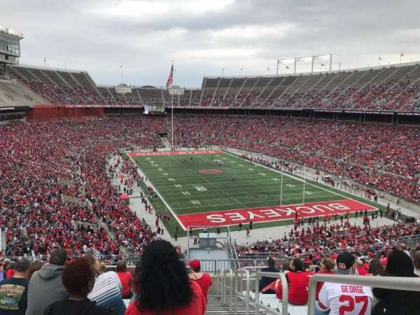 ohio stadium section 33b home of ohio state buckeyes