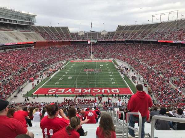 Ohio Stadium, section: 39b, row: 30, seat: 1