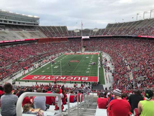 Ohio Stadium, section: 36b, row: 30, seat: 38