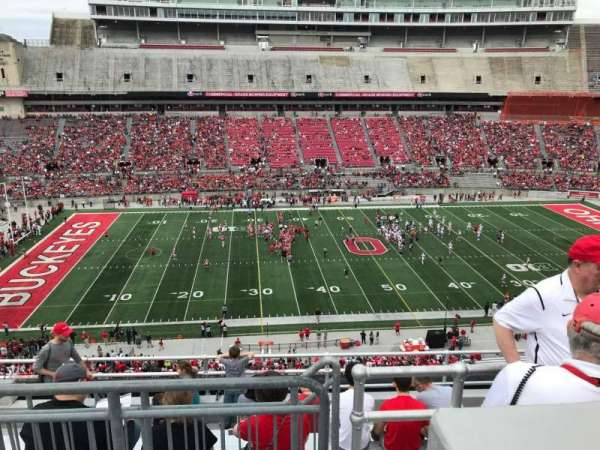 Ohio Stadium, section: 24c, row: 9, seat: 13