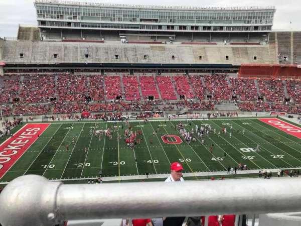 Ohio Stadium, section: 24c, row: 11, seat: 10