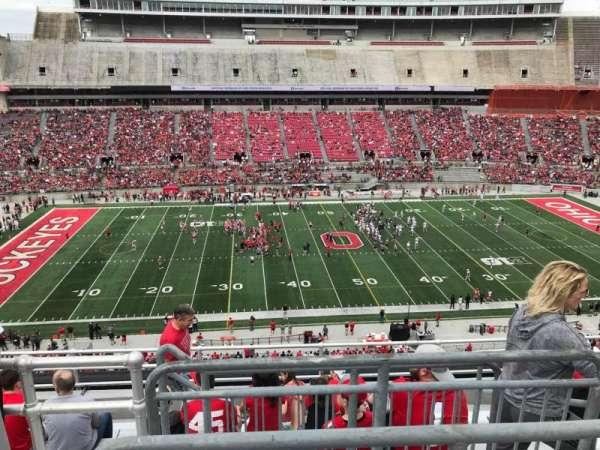 Ohio Stadium, section: 24c, row: 9, seat: 4