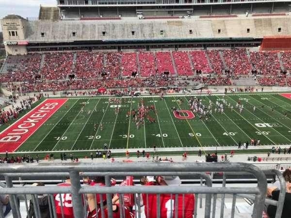 Ohio Stadium, section: 24c, row: 8, seat: 2
