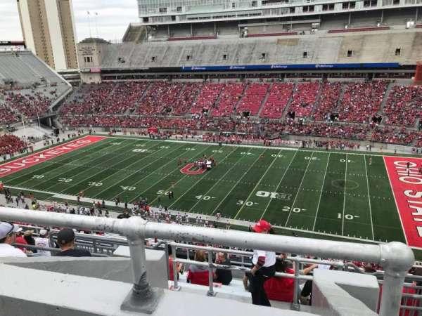 Ohio Stadium, section: 18c, row: 12, seat: 6