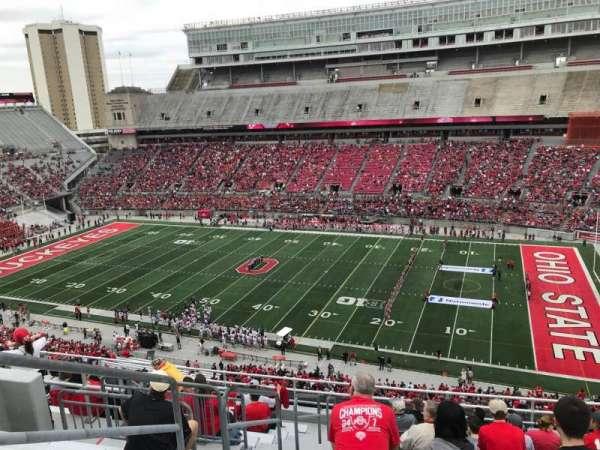 Ohio Stadium, section: 16C, row: 13, seat: 30