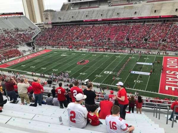 Ohio Stadium, section: 16c, row: 13, seat: 17