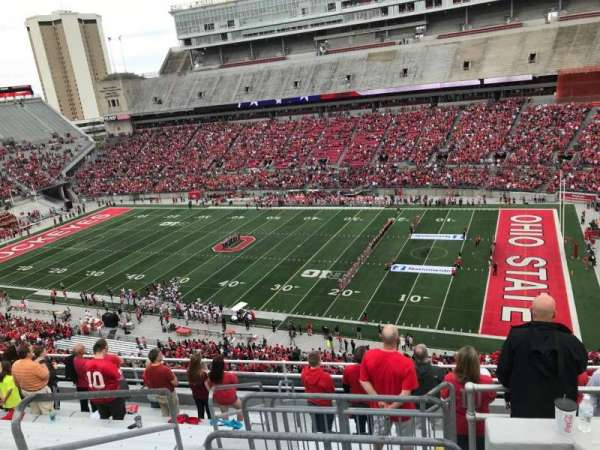 Ohio Stadium, section: 16c, row: 11, seat: 12