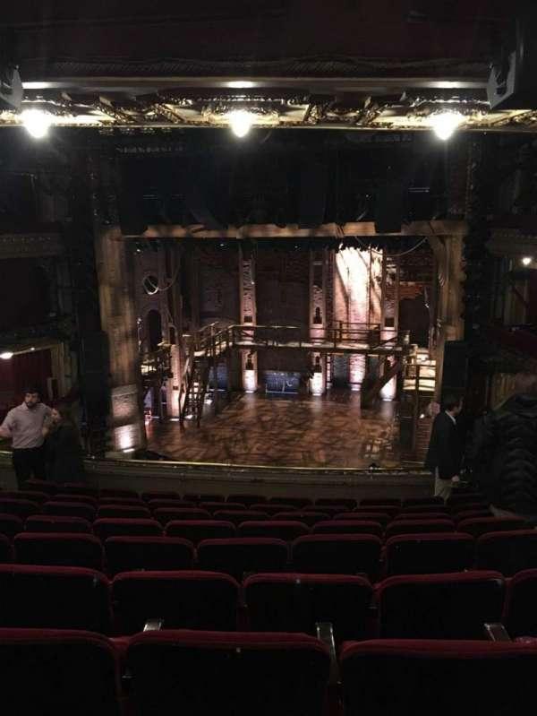 CIBC Theatre, section: Mezzanine RC, row: J, seat: 322