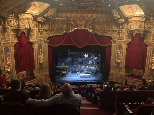 Nederlander Theatre (Chicago), section: BALC LC, row: P, seat: 321