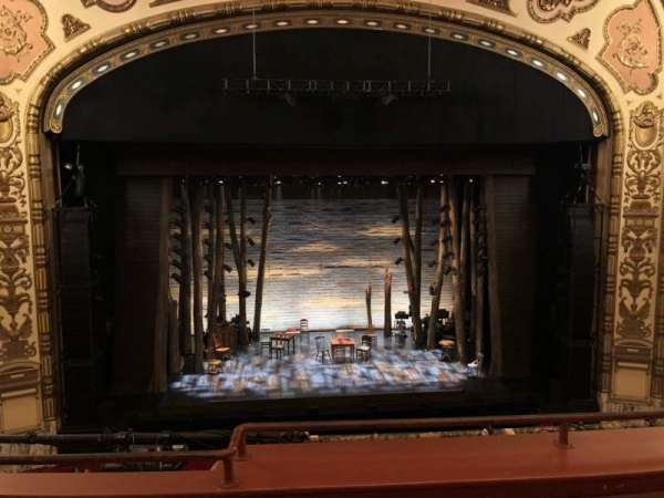 Cadillac Palace Theater, section: LOGE C, row: C, seat: 311