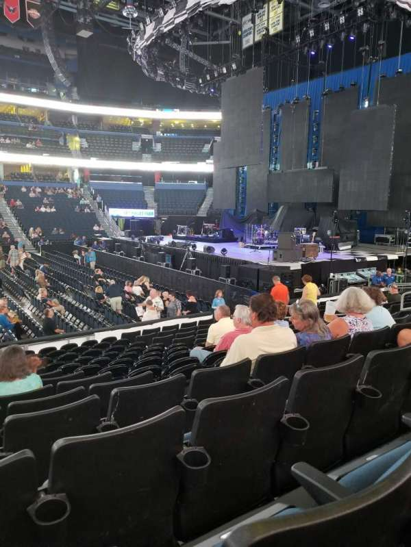Amalie Arena, section: 130, row: N, seat: 15