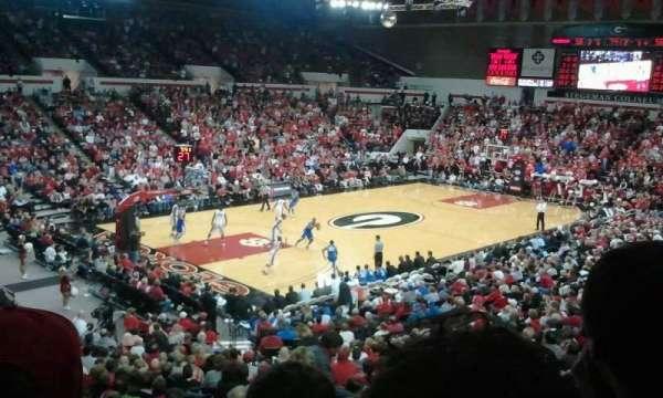 Stegeman Coliseum, section: II, row: 3, seat: 26