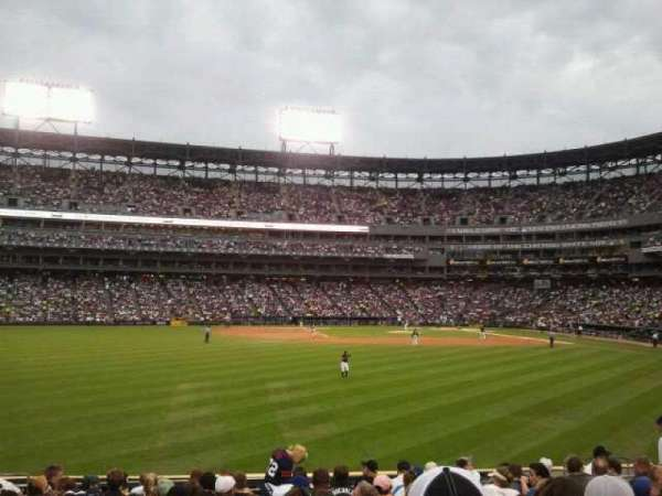 Guaranteed Rate Field, section: 160, row: 16, seat: 13