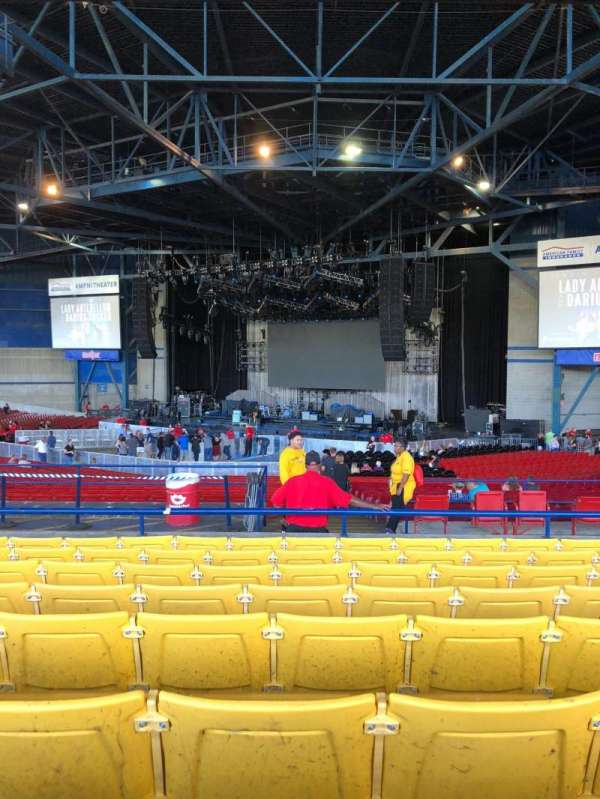 American Family Insurance Amphitheater, section: 5, row: H, seat: 27